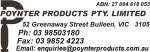 Poynter Products Pty Ltd