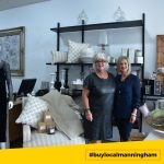 Two female staff at The Girls Boutique store #buylocalmanningham