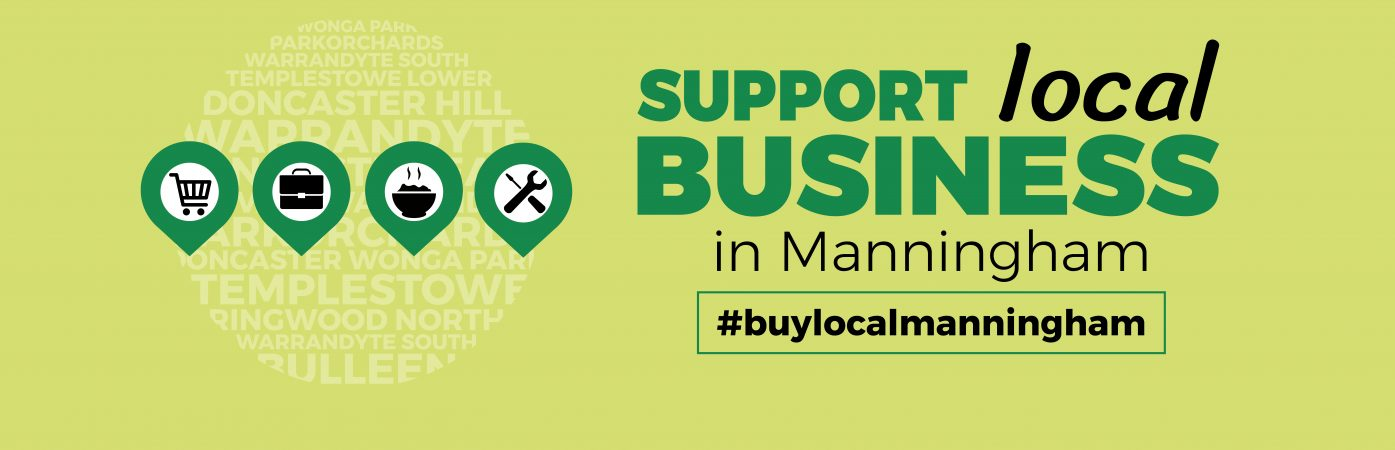 Buy Local 2019 Manningham Business Website slider image